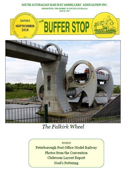Cover of September 2018 Buffer Stop